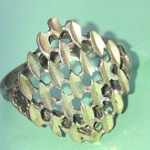 Sterling Silver 925 Ring Size 7